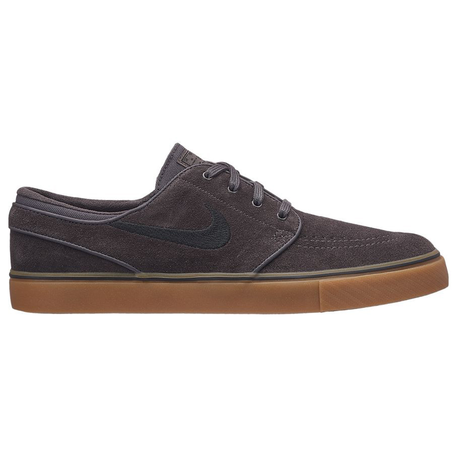 Nike SB Men's Nike SB Air Zoom Stefan Janoski Skateboarding Shoe Thunder Grey and Black