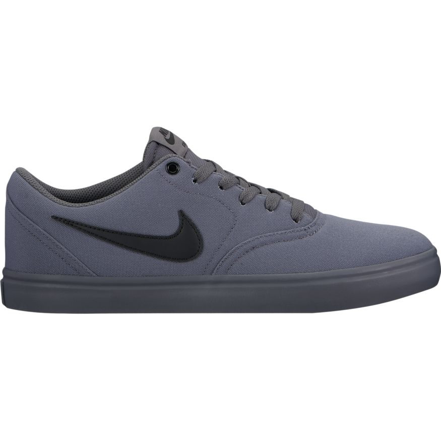 huge selection of 16ac7 97d76 Nike SB Check Solar Canvas Skate Shoes - Dark Grey  Black. Price £47.95.  Image 1