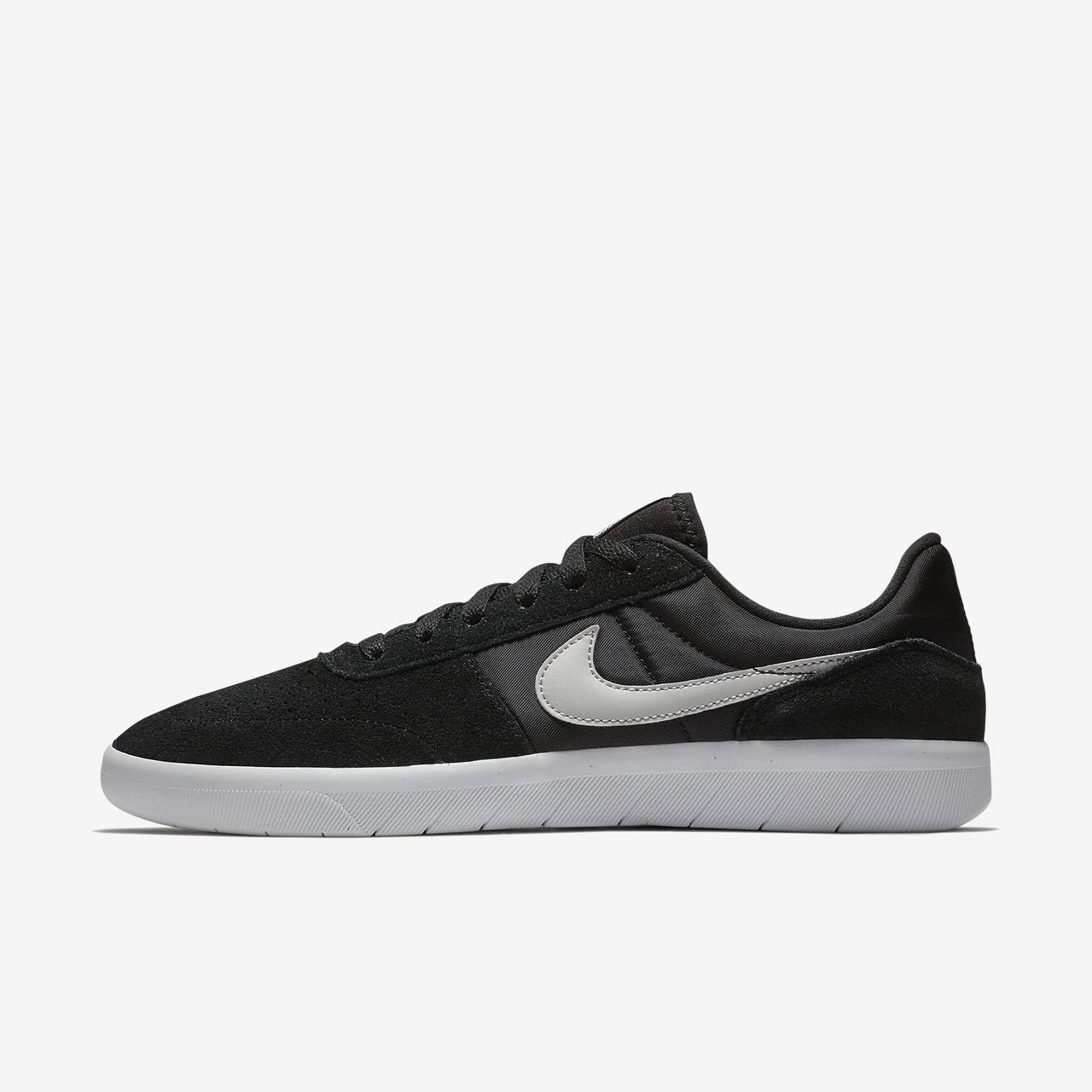 3a1a1f817 Nike SB Team Classic Skate Shoes - Black   Light Bone   White