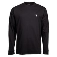Santa Cruz Longsleeve T Shirt - Ghost Lady L/S Tee - Black