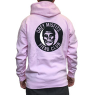 OBEY X Misfits Fiend Club Hoodie - Pink