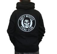 OBEY X Misfits Fiend Club Hoodie - Black