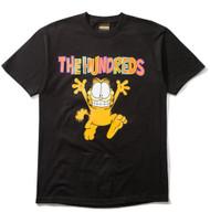 The Hundreds X Garfield Run Tee - Black