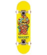 Rocket Complete Skateboard Mini Mask Aztek 7.375""