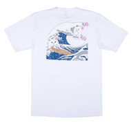RIPNDIP Great Wave Tee - White