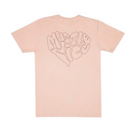 RIPNDIP - Love Affair Tee - Peach