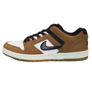 Nike SB Air Force II Low Skate Shoes - Brown / Black / White