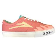 Lakai X Leon Karssen Sheffield Skateboard Shoes - Pink
