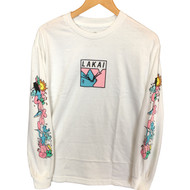 Lakai Leon Karssen Box Cat Long Sleeve Tee - White