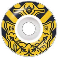 Darkstar Lockup Skateboard Wheels 51mm