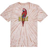 HUF - Bar Bird Tie-Dye SS Tee - Coral Haze