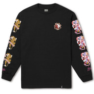 HUF - Chloe K Yin-Yang Long Sleeve Tee - Black