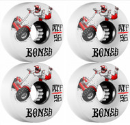 Bones Skateboarding Wheels - SEG Cross ATF - White - 56mm