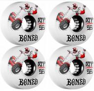Bones Skateboarding Wheels - SEG Cross ATF - White - 56mm