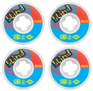 Ricta Skateboarding Wheels - Naturals Kroetkov Blind - 99a - White - 51mm