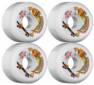Bones Skateboarding Wheels - SPF Cab Dragon - White - 60mm