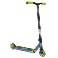 Crisp Surge Stunt Scooter - Neo Chrome / Green