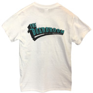 The Boardroom Logo Tee - White / Teal