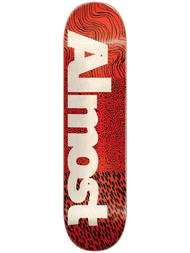 Almost CT Logo Skateboard Deck 8.00