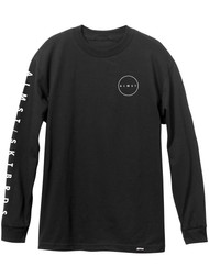 Almost Cryptic Long Sleeve Tee - Black