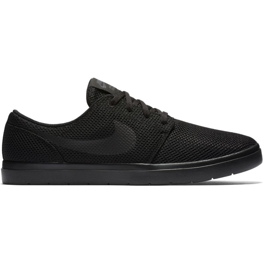 3045f6e7ee6 Nike SB Solarsoft Portmore II - Black Black and Anthracite. Price  £52.95.  Image 1