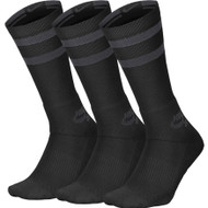 Nike SB 3 Pack Crew Socks - Black Anthracite