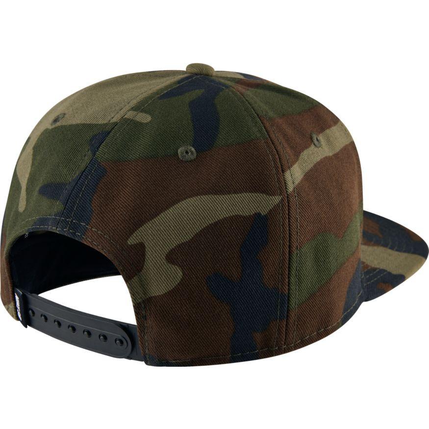 Nike SB Skateboarding Snapback Hat - Camo - Olive Black. Price  £26.95.  Image 1. Larger   More Photos 1d28a0580d39