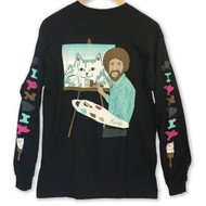 RIPNDIP Ross Long Sleeve Tee - Black