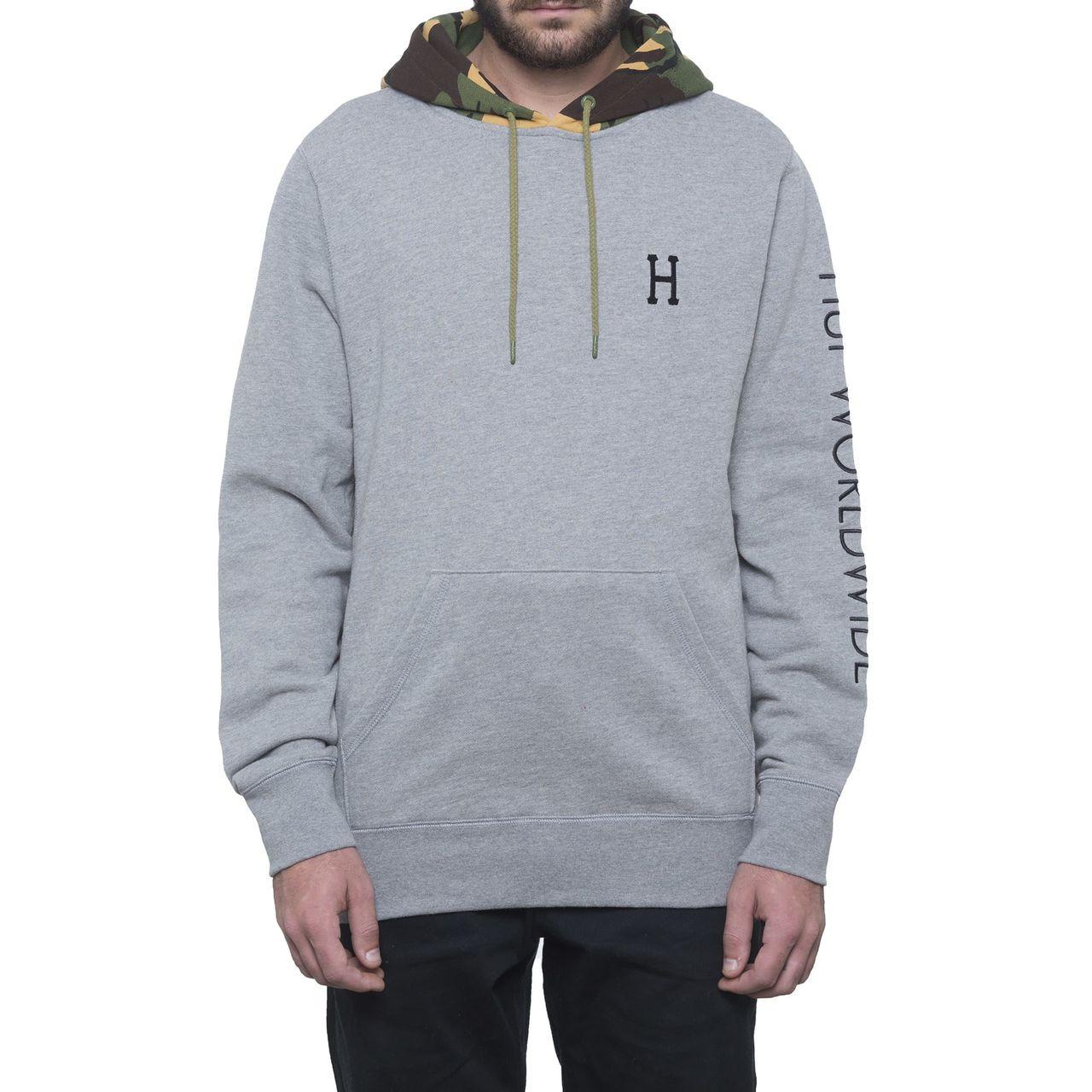 Promo-Codes neuer Stil von 2019 langlebig im einsatz HUF Voyage French Pullover Hoodie - Athletic Heather