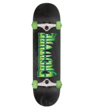 Creature Chrome Complete Skateboard 8.25 - Black/Green