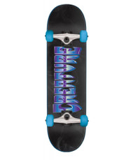 Creature Chrome Complete Skateboard 7.75 - Black/Blue