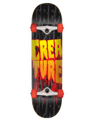 Creature Stacks Complete Skateboard 8.00 - Black/Red