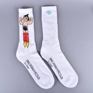 Diamond X Astro Boy Crew Socks - White
