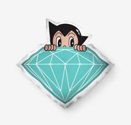 Diamond Supply Co X Astro Boy Brilliant Pillow
