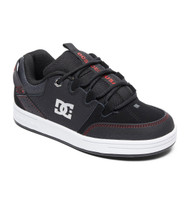 DC Syntax Kids Skate Shoes - Black/Red/White