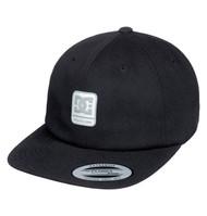 DC Roundballer Snapback Cap - Black