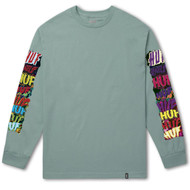 HUF Worldwide - Cinema Long Sleeve Tee - Cloud Blue