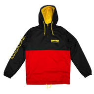 Thrasher Limited Edition Mag Logo Anorak - Black / Red