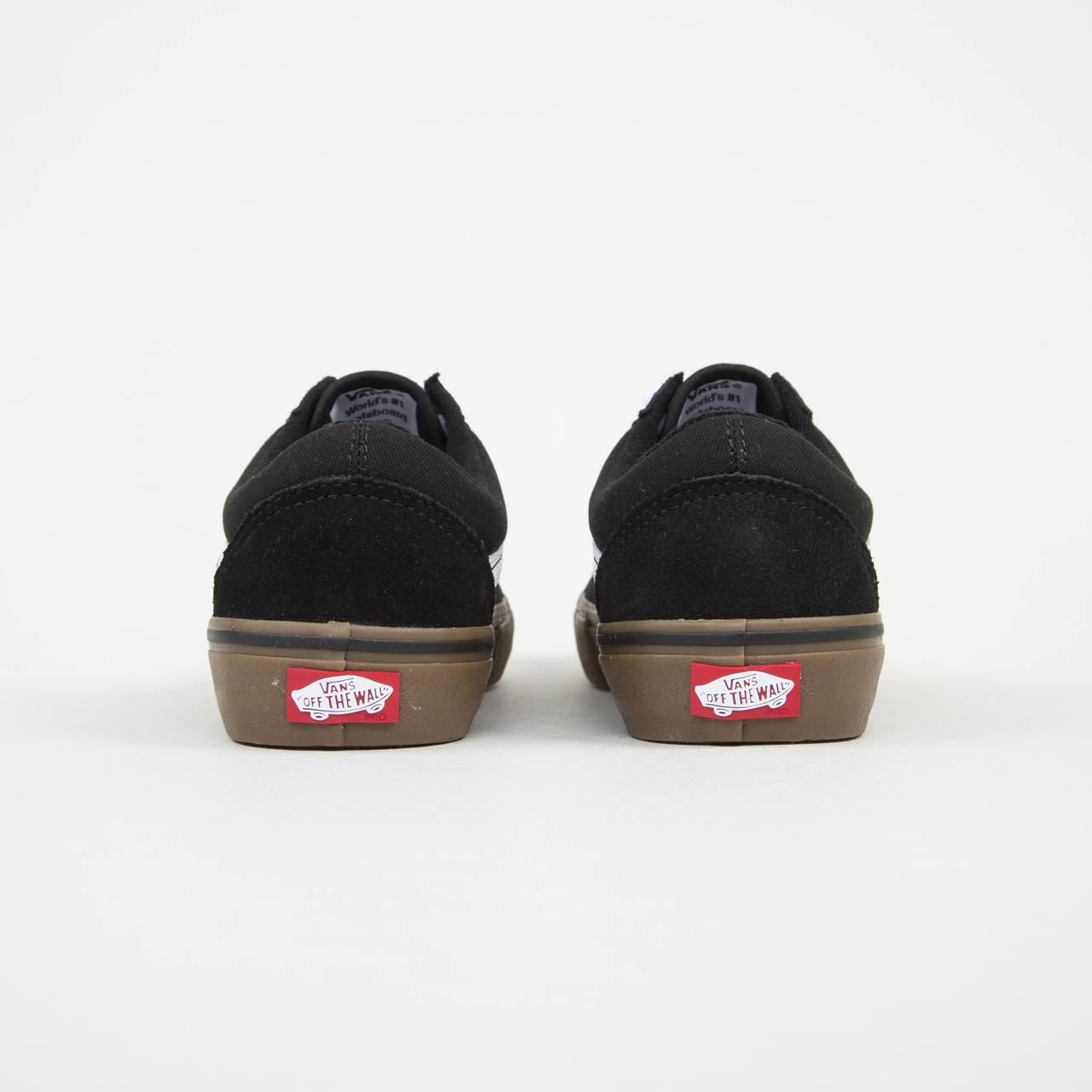 d18a3d3b4d Vans Old Skool Pro Skate Shoes - Black White Gum. Price  £64.95. Image 1.  Larger   More Photos