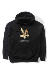 The Hundreds X Looney Tunes Wile-E Coyote Hoodie - Black