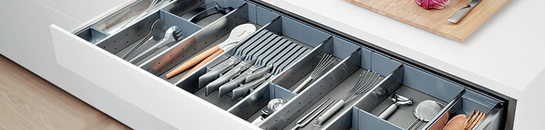 Drawer Organiser Kitchen Drawer Dividers Utensils Tray