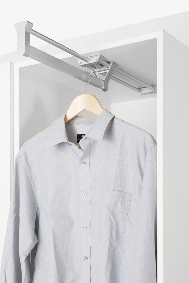 Rail For Wardrobe Pull Out Hanging Rail