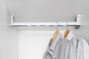 Wardrobe Lighting Illuminated Hanging Rail Led