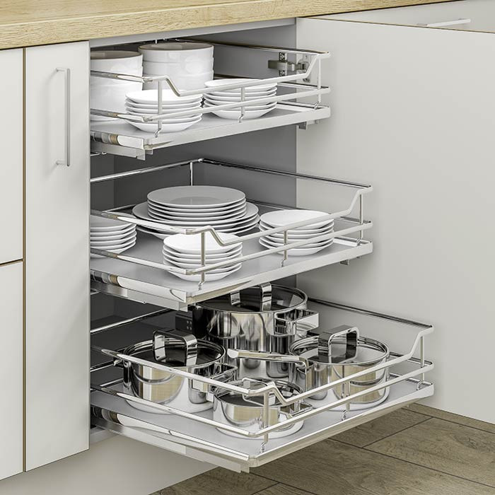 Soft Close Pull Out Baskets Clutterfree Kitchens