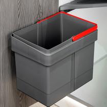 15L Waste Bin for Hinged Doors