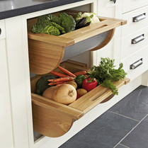 Pull-Out Basket with Stainless Steel Base