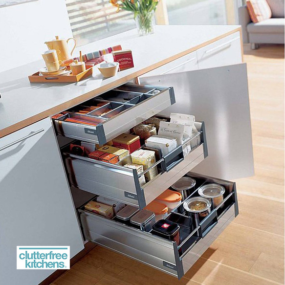 300mm X 3 Internal Drawer Pack Tandembox Clutterfree Kitchens