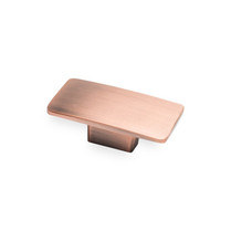 Camden Rectangular - Antique Copper Knob