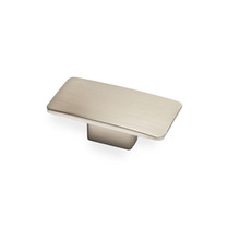 Camden Rectangular - Brushed Nickel Knob