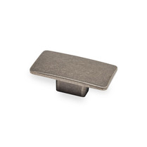 Camden Rectangular - Pewter Knob